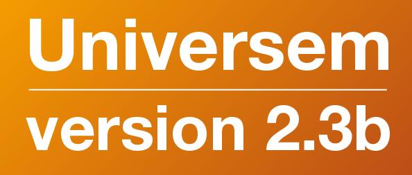 Sortie de la version 2.3b de la Suite Universem